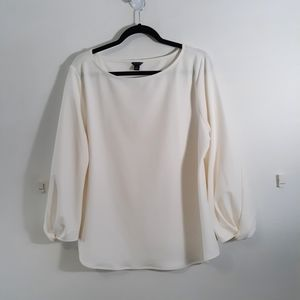 Ann Taylor size XL Ivory Blouse